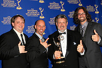 LOS ANGELES - JUN 20: Rob McIntyre, Thomas J Mayden, Justin Brinsfield, Matt Corey at The 41st Daytime Creative Arts Emmy Awards Gala in the Westin Bonaventure Hotel on June 20th, 2014 in Los Angeles, California
