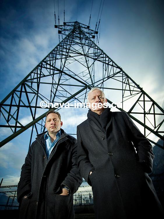 Riddes, le 3 février 2017,Marcel Bayard, président de Grône et Jacques Phillippoz, Avocat  © sedrik nemeth