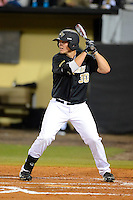 Central Florida Knights outfielder Nick Carrillo #30 during a game against the Siena Saints at Jay Bergman Field on February 15, 2013 in Orlando, Florida.  UCF defeated Siena 7-1.  (Mike Janes/Four Seam Images)