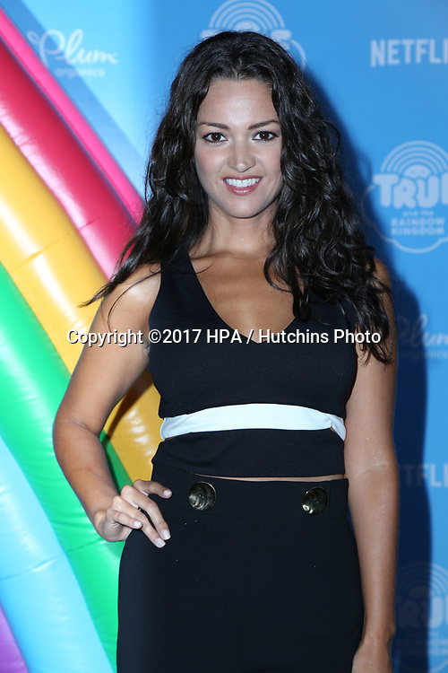 LOS ANGELES - AUG 10:  Paula Garces at the True and the Rainbow Kingdom Series LA Premiere at the Pacific Theater At The Grove on August 10, 2017 in Los Angeles, CA