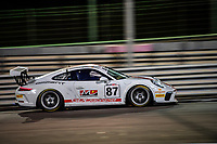 #87 BGDL RACING (SM) PORSCHE 991 CUP JIM MICHAELIAN (USA) MOHAMMED HUSSAIN (UAE)RISTO VUKOV (MAC) GT CUP 2