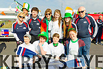 Tralee Rowing Club at Tralee Saint Patrick's day parade on Tuesday.