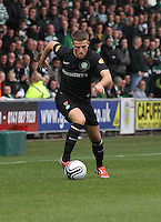 Adam Matthews in the St Mirren v Celtic Clydesdale Bank Scottish Premier League match played at St Mirren Park, Paisley on 20.10.12.