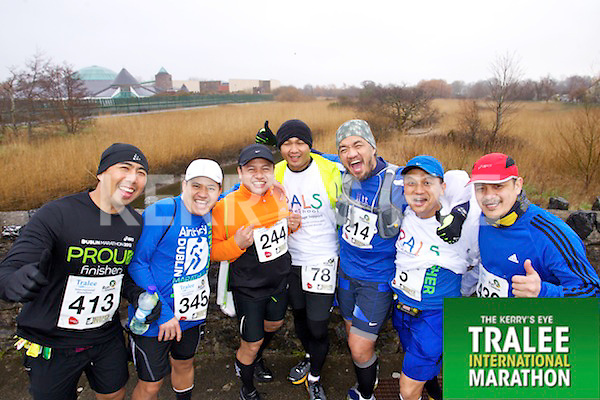 Joey Velasco 413, Butch Quintilla 345, Glen Mores 244, Amado Damot 78, Paul Margelino 214, Fermin Bantilan 5, Platon Zarzoso 430, who took part in the Kerry's Eye Tralee International Marathon on Sunday 16th March 2014.