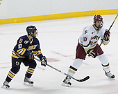 Rob Ricci, Brian Boyle - Boston College defeated Merrimack College 3-0 with Tim Filangieri's first two collegiate goals on November 26, 2005 at Kelley Rink/Conte Forum in Chestnut Hill, MA.