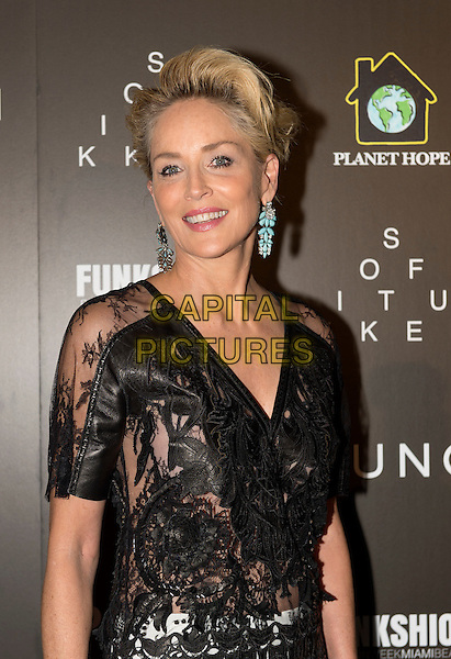 MIAMI - November 06: Sharon Stone arrives to the Celebration of Hope Event and present her sister Kelly with her Legacy Award of Excellence at the Setai Hotel in Miami Beach. November 6, 2015. <br /> CAP/MPI/BSAP<br /> &copy;BSAP/MPI/Capital Pictures