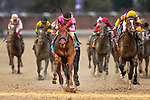 November 2, 2018: Game Winner #9, ridden by Joel Rosario, wins the Sentient Jet Juvenile on Breeders' Cup World Championship Friday at Churchill Downs on November 2, 2018 in Louisville, Kentucky. Alex Evers/Eclipse Sportswire/CSM