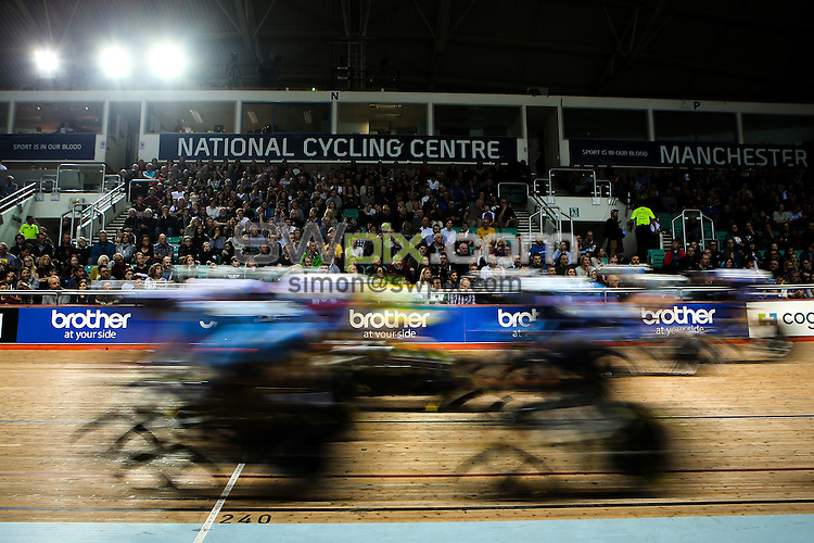 Picture by Alex Whitehead/SWpix.com - 26/11/2016 - Track Cycling - Revolution Champions League - National Cycling Centre, Manchester, England - Brother branding.