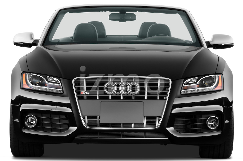 Straight front view of a 2010 - 2011 Audi S5 Cabriolet
