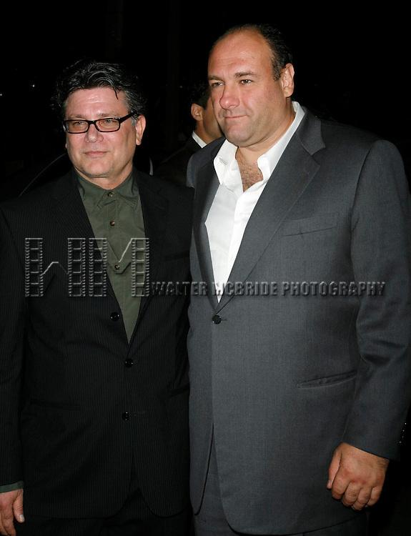 Steven Zaillian (Director) &amp; James Gandolfini<br /> attending the Toronto International Film Festival <br /> ( TIFF ) Gala Preniere of ALL THE KING's MEN  at the Roy Thomson Hall on September 10, 2006 in Toronto, Canada.