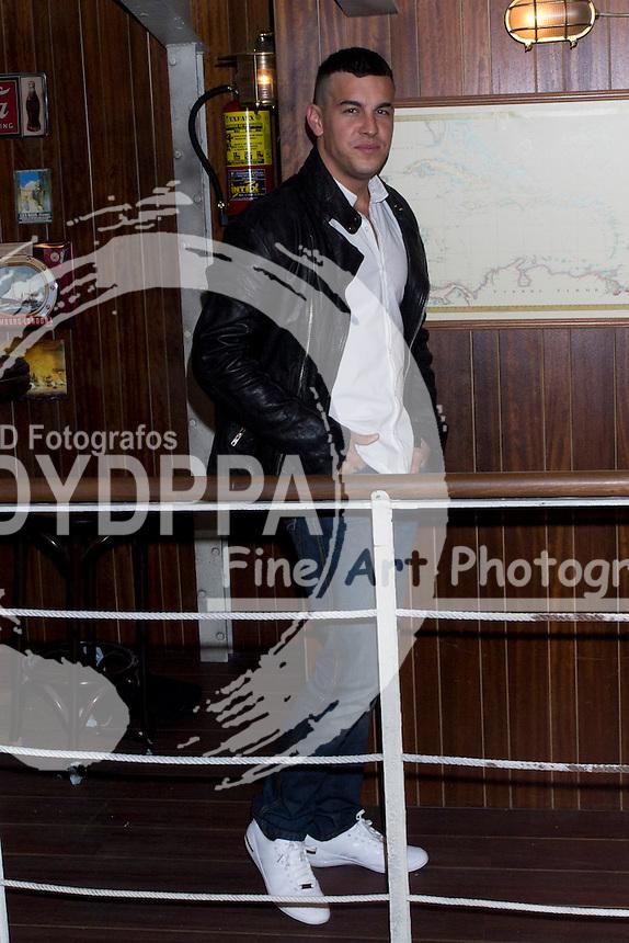 17/10/2012. Madrid. Spain. Presentation of the third season of  ´El Barco´ (The Boat). Mario Casas. (C) Marta G. Rodriguez / DyD Fotografos