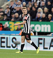 Newcastle United's Matt Ritchie<br /> <br /> Photographer Rich Linley/CameraSport<br /> <br /> The Premier League -  Newcastle United v Liverpool - Sunday 1st October 2017 - St James' Park - Newcastle<br /> <br /> World Copyright &copy; 2017 CameraSport. All rights reserved. 43 Linden Ave. Countesthorpe. Leicester. England. LE8 5PG - Tel: +44 (0) 116 277 4147 - admin@camerasport.com - www.camerasport.com