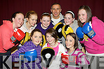 Boxercise coach Cieran Corcoran puts the girls from Listry KDYS through their paces at their first boxercise class in Listry Community Centre Friday night front row l-r: Joanne Browne, Aoife Murphy, Aoife O'Mahony. Back row: Sharon Campbell, Siobhain Clifford, Ciara O'Sullivan, Katie Giles, Meagan O'Sullivan ..