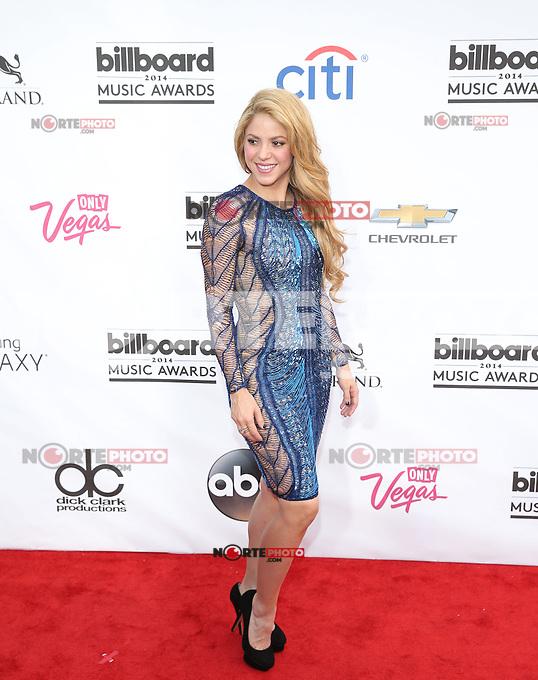 LAS VEGAS, NV - May 18 : Shakira  pictured at 2014 Billboard Music Awards at MGM Grand in Las Vegas, NV on May 18, 2014. © Kabik/ Starlitepics