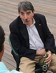 Ed Lowe seen attending the Newsday Family Reunion at the Pavillion at Sunken Meadow State Park in Kings Park, NY,  on Thursday August 12, 2010. Photo © Jim Peppler 2010.