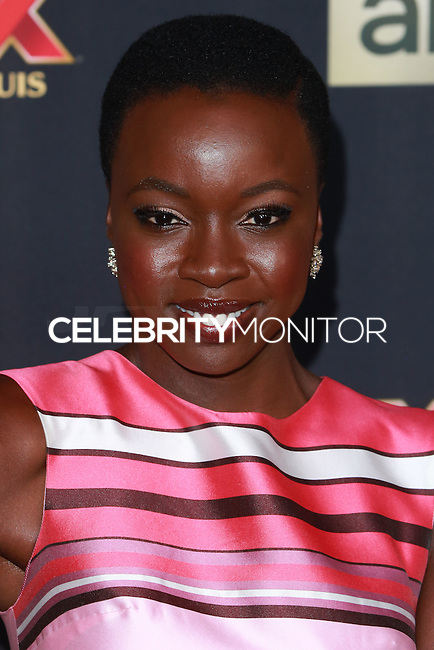 UNIVERSAL CITY, CA, USA - OCTOBER 02: Danai Gurira arrives at the Los Angeles Premiere Of AMC's 'The Walking Dead' Season 5 held at AMC Universal City Walk on October 2, 2014 in Universal City, California, United States. (Photo by David Acosta/Celebrity Monitor)