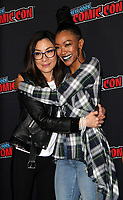 NEW YORK, NY - OCTOBER 6: Sonequa Martin-Green, Michelle Yeoh, at the panel discussion for the new season of the CBS series Star Trek: Discovery during New York Comic Con 2018 at The Hulu Theater at Madison Square Garden in New York City on October 6, 2018. <br /> CAP/MPI/RW<br /> &copy;RW/MPI/Capital Pictures