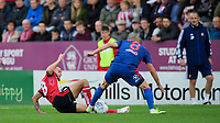 Lincoln City's Jorge Grant vies for possession with Sunderland's Dylan McGeouch<br /> <br /> Photographer Chris Vaughan/CameraSport<br /> <br /> The EFL Sky Bet League One - Lincoln City v Sunderland - Saturday 5th October 2019 - Sincil Bank - Lincoln<br /> <br /> World Copyright © 2019 CameraSport. All rights reserved. 43 Linden Ave. Countesthorpe. Leicester. England. LE8 5PG - Tel: +44 (0) 116 277 4147 - admin@camerasport.com - www.camerasport.com