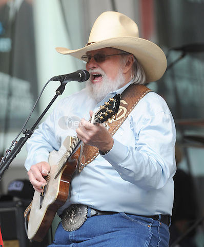 New York,NY-May 30: Charlie Daniels performs in concert on Fox & Friends in New York City on May 30, 2014. Credit: John Palmer/MediaPunch