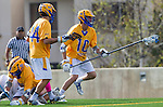 Los Angeles, CA 02-26-17 - Dietrich Von Kaenel (UCSB #10) and Kai  Welsh (UCSB #44) in action during the MCLA conference game between LMU and UC Santa Barbara.  Santa Barbara defeated LMU 15-0.