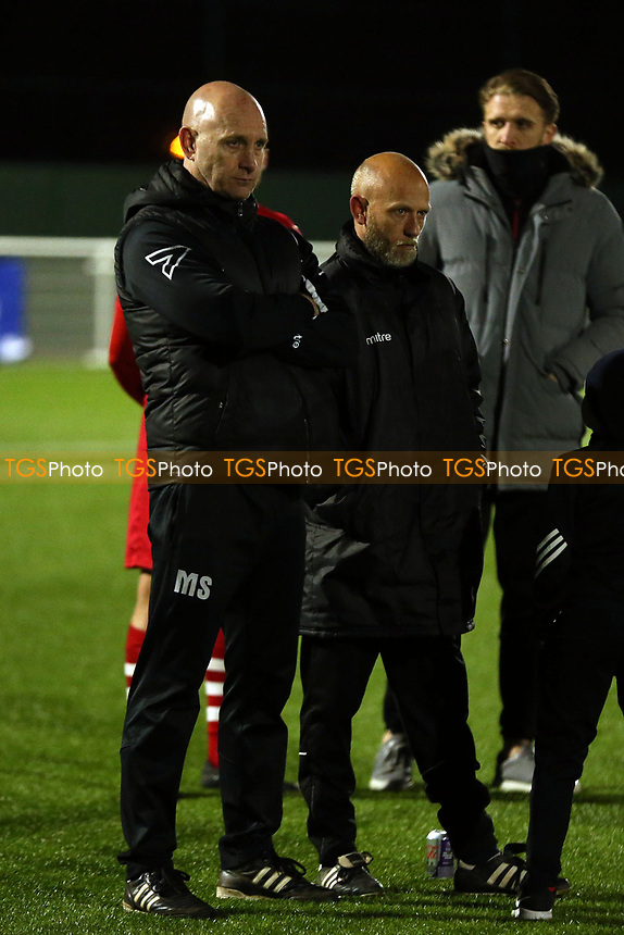 Losing AFC Hornchurch manager Mark Stimson after AFC Hornchurch vs Enfield Town, Velocity Trophy Final Football at Parkside on 10th April 2019