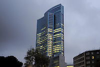 """- Milan, the skyscraper """" Palazzo Lombardia """", new headquarters of Lombardy Regional authority<br /> <br /> - Milano, il grattacielo """" Palazzo Lombardia """", nuova sede della Regione Lombardia"""