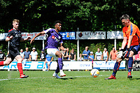 SURHUISTERVEEN - Voetbal, T Fean 58 - FC Groningen, voorbereiding seizoen 2018-2019, 07-07-2018,  FC Groningen speler Mateo Cassierra komt ter laat