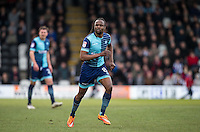 Marcus Bean of Wycombe Wanderers in action during the Sky Bet League 2 match between Grimsby Town and Wycombe Wanderers at Blundell Park, Cleethorpes, England on 4 March 2017. Photo by Andy Rowland / PRiME Media Images.
