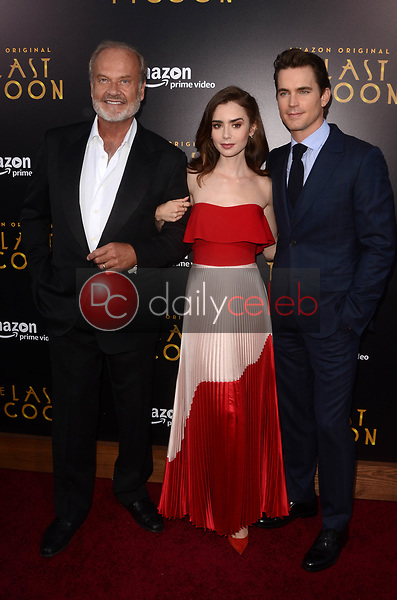 "Kelsey Grammer, Lily Collins, Matt Bomer<br /> at ""The Last Tycoon"" Red Carpet Premiere Screening, Harmony Gold Theater, Los Angeles, CA 07-27-17<br /> David Edwards/DailyCeleb.com 818-249-4998"