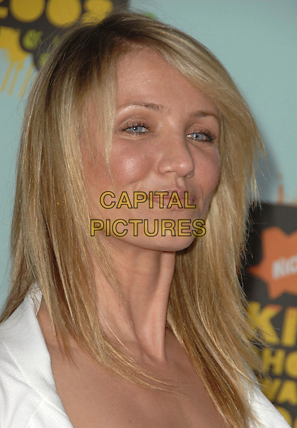 CAMERON DIAZ.Attends The 2008 Kids Choice Awards held at Pauley Pavilion in Westwood, California, USA, March 29th 2008.                                                                     portrait headshot .CAP/DVS.©Debbie VanStory/Capital Pictures