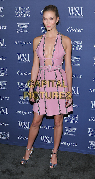 New York,NY-November 4:  Karlie Kloss attend the WSJ. Magazine 2015 Innovator Awards at the Museum of Modern Art on November 4, 2015 in New York City. <br /> CAP/MPI/STV<br /> &copy;STV/MPI/Capital Pictures