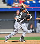 2 March 2011: Florida Marlins infielder Ruben Gotay in action during a Spring Training game against the Washington Nationals at Space Coast Stadium in Viera, Florida. The Nationals defeated the Marlins 8-4 in Grapefruit League action. Mandatory Credit: Ed Wolfstein Photo