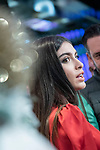 Lucia Rivera lights up Christmas at world duty free at Madrid airport<br /> December  4, 2019. <br /> (ALTERPHOTOS/David Jar)