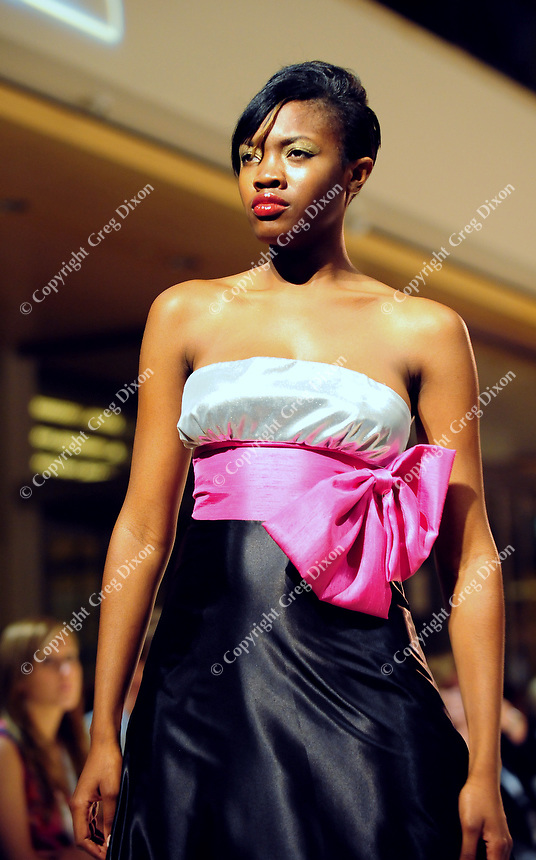 Fashion from Jessica Catherine is modeled at Wisconsin Fashion Week at the Overture Center in Madison