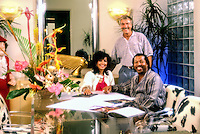 """Soul Train"" Marilyn McCoo & Billy Davis Jr/me, commercial, business, interior, lifestyle, decor, Contemporary, Modern,"