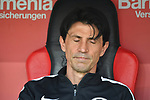 14.04.2018, BayArena, Leverkusen , GER, 1.FBL., Bayer 04 Leverkusen vs. Eintracht Frankfurt<br /> im Bild / picture shows: <br /> Bruno H&uuml;bner / Huebner Sportdirektor  (Eintracht Frankfurt), <br /> <br /> <br /> Foto &copy; nordphoto / Meuter