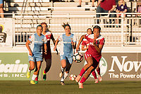 Boyds, MD - Saturday June 03, 2017: Mallory Pugh during a regular season National Women's Soccer League (NWSL) match between the Washington Spirit and Houston Dash at Maureen Hendricks Field, Maryland SoccerPlex.