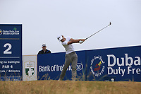 Joakim Lagergren (SWE) tees off the 2nd tee during Saturday's Round 3 of the 2018 Dubai Duty Free Irish Open, held at Ballyliffin Golf Club, Ireland. 7th July 2018.<br /> Picture: Eoin Clarke | Golffile<br /> <br /> <br /> All photos usage must carry mandatory copyright credit (&copy; Golffile | Eoin Clarke)