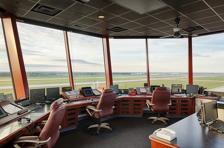 Rickenbacker International Airport Air Traffic Control Tower | Smoot Construction