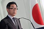 Japanese Ambassador to Spain, Mr. Kazuhiko Koshikawa attends the 55th Gran Seiko Premium Collection anniversary.June 18,2015. (ALTERPHOTOS/Acero)