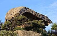 Fels Fungo di Arzachena, Gallura, Provinz Olbia-Tempio, Nord Sardinien, Italien