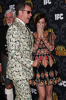 "LOS ANGELES, CA - JANUARY 07: Will Ferrell, Kristen Wiig arriving at the Los Angeles Screening Of IFC's ""The Spoils Of Babylon"" held at the Directors Guild Of America on January 7, 2014 in Los Angeles, California. (Photo by Xavier Collin/Celebrity Monitor)"