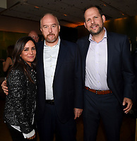 LOS ANGELES, CA - SEPTEMBER 16: (L-R) Pamela Adlon, Louis C.K. and Nick Grad attend the FX Networks and Vanity Fair 2017 Primetime Emmy Nominee Celebration at Craft LA on September 16, 2017 in Los Angeles, California. (Photo by Frank Micelotta/FX/PictureGroup)