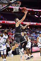 Washington, DC - MAR 11, 2018: Davidson Wildcats guard Jon Axel Gudmundsson (3) goes up for a lay up during the Atlantic 10 men's basketball championship between Davidson and Rhode Island at the Capital One Arena in Washington, DC. (Photo by Phil Peters/Media Images International)