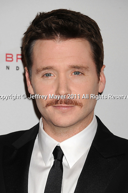 HOLLYWOOD, CA - NOVEMBER 16: Kevin Connolly arrives at the 5th Annual Rock The Kashbah at Boulevard 3 on November 16, 2011 in Hollywood, California.
