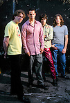 Various portrait sessions of the rock band, Into Another