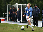 Carolina's Ben Hunter on Sunday, November 27th, 2005 at Fetzer Field in Chapel Hill, North Carolina. The University of North Carolina Tarheels defeated the University of Virginia Cavaliers 2-1 in a NCAA Men's Soccer Tournament Round of 16 game.