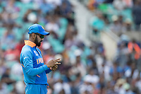 Ravindra Jadeja (India) during India vs New Zealand, ICC World Cup Warm-Up Match Cricket at the Kia Oval on 25th May 2019