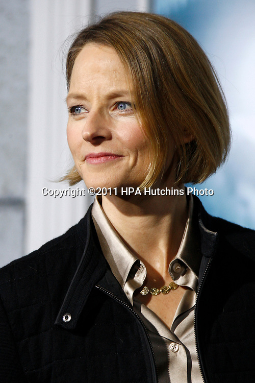 """LOS ANGELES - DEC 6:  Jodie Foster at the """"Sherlock Holmes: A Game Of Shadows""""  Premiere at the Village Theater on December 6, 2011 in Westwood, CA"""