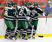 Joe Stejskal (Dartmouth - 18), Scott Fleming (Dartmouth - 17), Nick Walsh (Dartmouth - 21), Evan Stephens (Dartmouth - 24), Matt Reber (Dartmouth - 10) - The Harvard University Crimson defeated the Dartmouth College Big Green 4-1 (EN) on Monday, January 18, 2010, at Bright Hockey Center in Cambridge, Massachusetts.